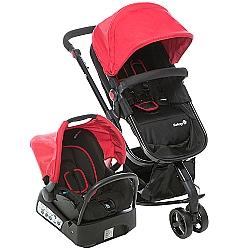 Comprar Carrinho com Beb� Conforto, Vermelho Station, Travel System Mobi - Para Beb�s-Safety 1St