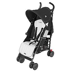 Comprar Carrinho de Bebê para Passeio, Quest Black Silver-Maclaren