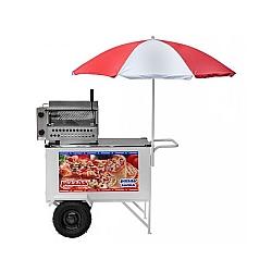 Comprar Carrinho Pizza Mini Pizza Pizza Cone Luxo com Rodas Pneumáticas-Armon