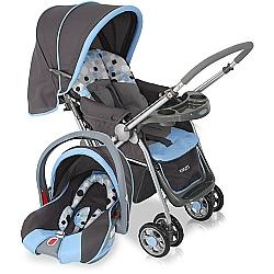 Comprar Carrinho com Bebê Conforto, Travel System Reverse Azul, para bebês  -Cosco