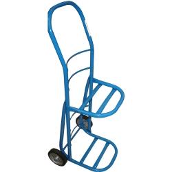 Comprar Carro para transporte gás e capacidade para 2 botijões com roda de borracha maciça 6 - CRLG2-1-Tander