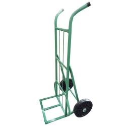 Comprar Carro armazém 400 kg com base de chapa e com roda de borracha integral 12-Tander