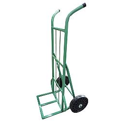 Comprar Carro armazém 400 kg com base de chapa e com roda de borracha integral 12-Carroleve