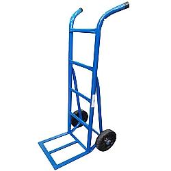 Comprar Carro armazém 200 kg com base de chapa e roda de borracha integral 8-Carroleve