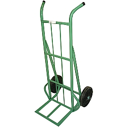 Comprar Carro armazém capacidade 300kg com roda borracha integral 10 - CRLA300-4-Carroleve