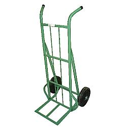 Comprar Carro armazém Capacidade de 300 kg com Base de Chapa com Roda de Borracha Integral 10-Carroleve
