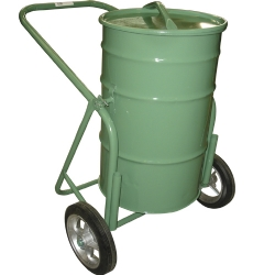 Comprar Carro coleta de lixo com tampa capacidade 100 Litros roda borracha maciça 12-Tander