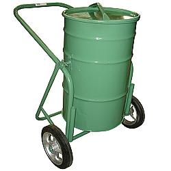 Comprar Carro Coleta de Lixo com Tampa Capacidade 100 Litros Roda Borracha Maci�a 12-Carroleve