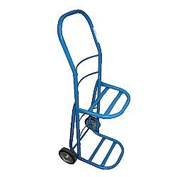 Comprar Carro para Transporte de Água e Gás 2 Bujões com Roda de Borracha Macica de 6-Carroleve
