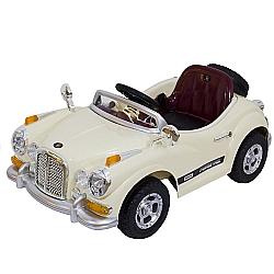 Comprar Mini Carro El�trico para Crian�as, Rolls Royce com Controle Remoto - Bege-Bel Fix