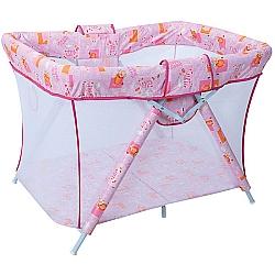 Comprar Cercado Dobrável para Bebês - Bianca 6630- C20, Rosa-Tubline