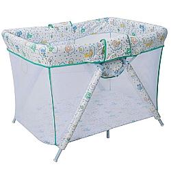 Comprar Cercado Dobrável para Bebês - Bianca 6630/C07, Verde-Tubline