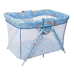 Comprar Cercado Dobrável para Bebês - Bianca 6630- C18, Azul-Tubline
