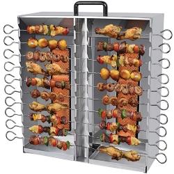 Comprar Churrasqueira/Assador a gás - Capacidade 20 espetos - Aço Inox - Portátil Duplo - AGI-20-Arke