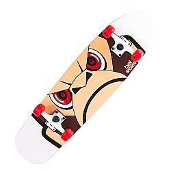 Comprar Longboard Classic Monkey, Vermelho, Rolamentos ABEC - 5, para Crianças e Adolescentes-Bel Fix