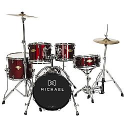 """Comprar Classic Pro DM843 WR Com Bumbo De 22""""-Michael"""