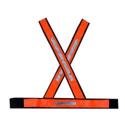 Comprar Colete de sinalização pvc laranja reflexivel-Wagner