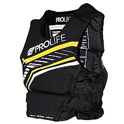 Comprar Colete Neoprene/Nylon Action Prolife - Preto/Amarelo - G-Prolife