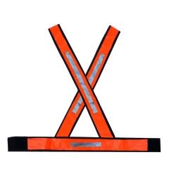 Comprar Colete X com refletivo laranja-Plast Mg