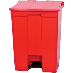 Comprar Coletor de pedal 30 Litros vermelho - CP30VM-Bralimpia