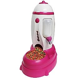 Comprar Comedouro e Bebedouro para Cães e Gatos - Puppy Rocket Dog-Chalesco