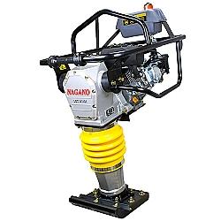 Comprar Compactador de Solo tipo sapo a Gasolina 6.5 HP Motor Loncin Motor de 4 tempos - NCSLON-Nagano
