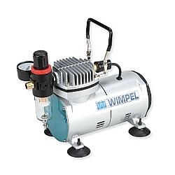 Comprar Compresor Compacto e Silencioso para Aerógrafo-Wimpel