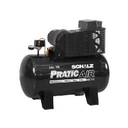 Comprar Compressor de Ar 2hp 10 pés 100 Litros Monofásico - PRATIC AIR-Schulz