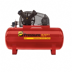 Comprar Compressor de Ar El�trico Monof�sico 140 libras 15 p�s 175 Litros - ATG2 15/175-Pressure