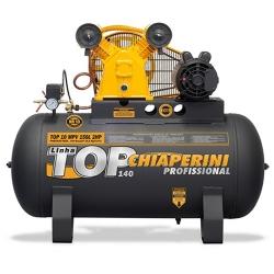 Comprar Compressor de Ar Monofásico 2 hp 140 libras 10 pés 150 Litros - TOP10MPV150LTM-Chiaperini