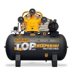 Comprar Compressor de Ar Trifásico 3 hp 140 libras 15 pés 150 Litros - TOP15MP3V150LTM-Chiaperini