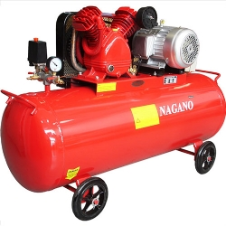 Comprar Compressor de Ar Trifásico 3 hp 15 pés 150 Litros Motor de 2.2 Kw / 3 HP - NCA150L3HP-Nagano Profissional