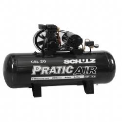 Comprar Compressor de Ar Trif�sico - 5 HP, 200 Litros - CSL 20/200 PRATIC AIR-Schulz