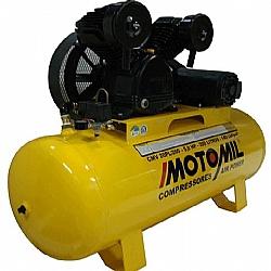 Comprar Compressor profissional 1 estágio 20 pés 5,0 hp 140 libras trifásica -CMV-20PL/200-MT-Motomil
