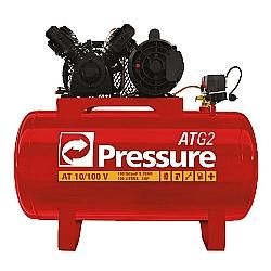 Comprar Compressor de Ar 10 PCM 100L BP ATG2 Trifásico - ATG210100VT-Pressure