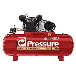 Comprar Compressor de Ar 20 PCM Baixa Rota��o 200 Litros Trif�sico-Pressure