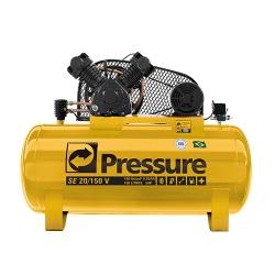 Comprar Compressor de Ar - 20PCM V 150Litros 140PSI 5HP Trif�sico-Pressure