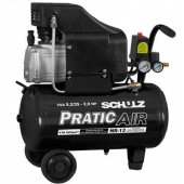 Compressor de Ar baixa press�o 8,2 p�s 22 Litros Monof�sico - CSA8,2/25 - PRATIC AIR