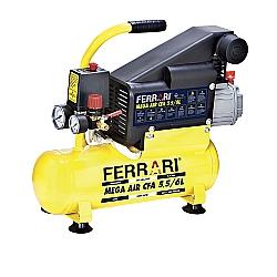 Comprar Compressor de Ar Mega Air  Motor 1 HP 750 watts 120Lbs - C-6L-Ferrari