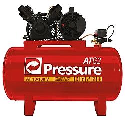 Comprar Compressor de Ar, Monofásico 110/220v, 10 Pés, 100 Litros - ATG 10/100V-Pressure