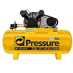 Comprar Compressor de Ar Monofásico 15PCM 175 Litros-Pressure