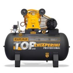 Comprar Compressor de Ar Trifásico 2 hp 140 libras 10 pés 150 Litros 110v/220v - TOP10MPV150LTT-Chiaperini