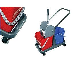 Comprar Conjunto mop duplo doblô - 50L-Bralimpia
