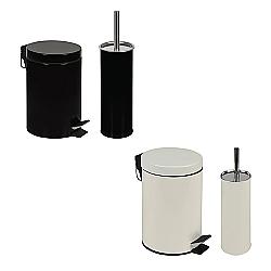 Comprar Conjunto Agata - Lixeira 3 Lixeira e Escova Para Higienização De Vaso-MOR