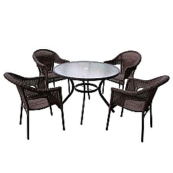 Comprar Conjunto Alum�nio Atacama Mesa e 4 Cadeiras - 9140-MOR