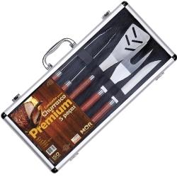 Comprar Conjunto churrasco premium - 5 peças-MOR