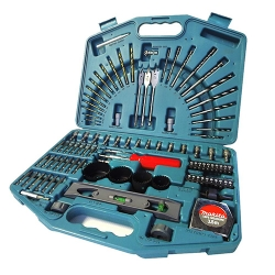 Comprar Conjunto de brocas pontas com estojo 100 peças - P35601-Makita
