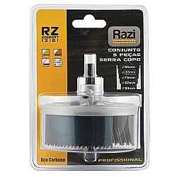 Comprar Conjunto de Serras Copo 5 Peças 60 a 95mm - KS06037-Razi