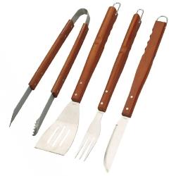 Comprar Conjunto para churrasco - 4 peças-MOR