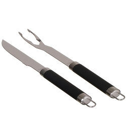 Comprar Conjunto para churrasco rubber black - 2 peças-MOR